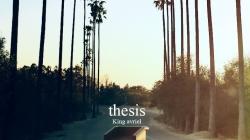 King Avriel – thesis