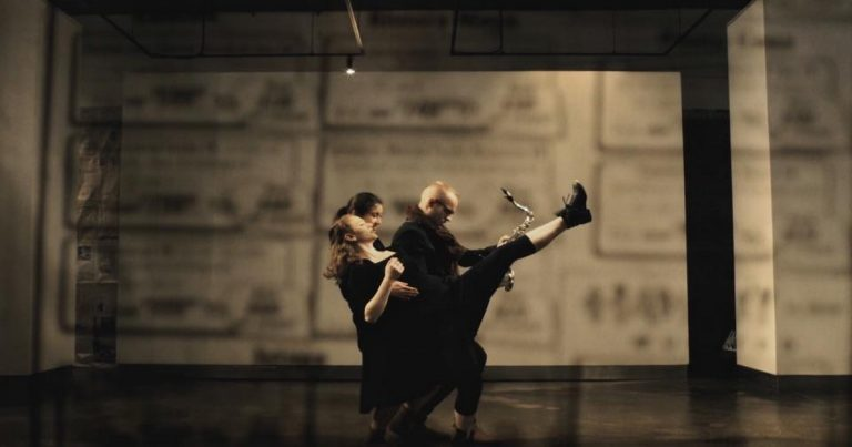 Nick Zoulek : Silhouette of a Storm-Bent Tree feat. Nicole Spence, dance