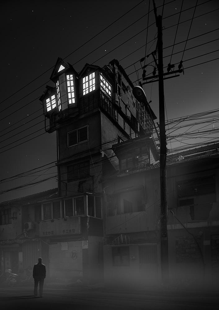 Le Shanghai Gothamesque de Amey Khan