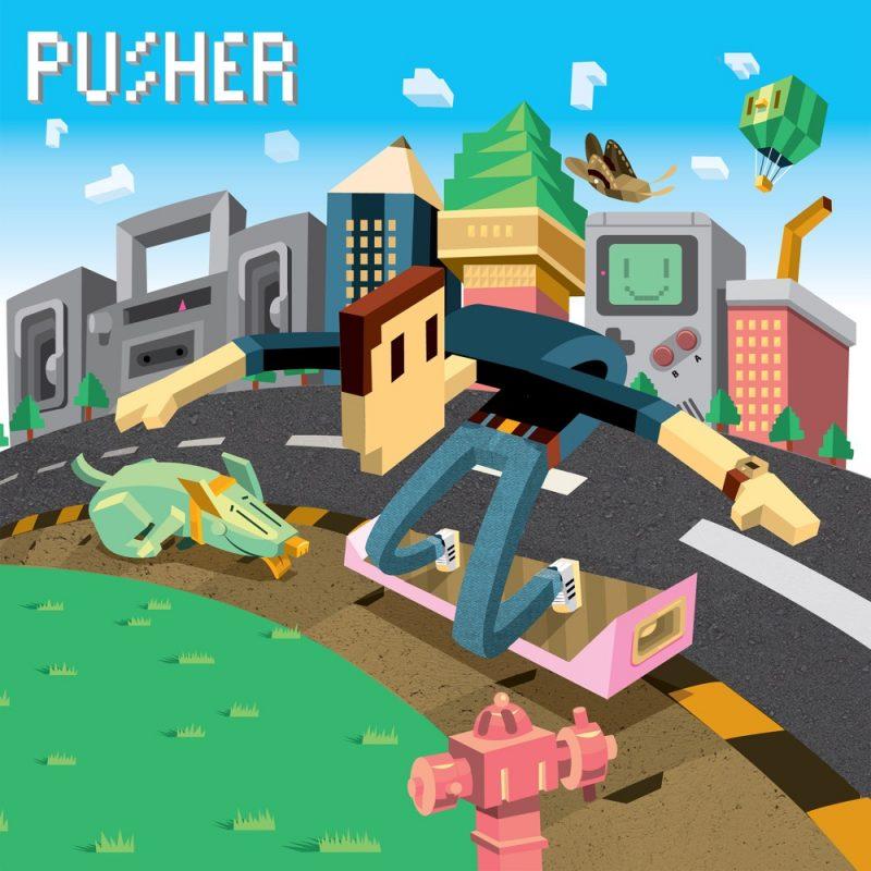Pusher fait son show live avec «Clear» en featuring avec Mothica, remix by Shawn Wazabi
