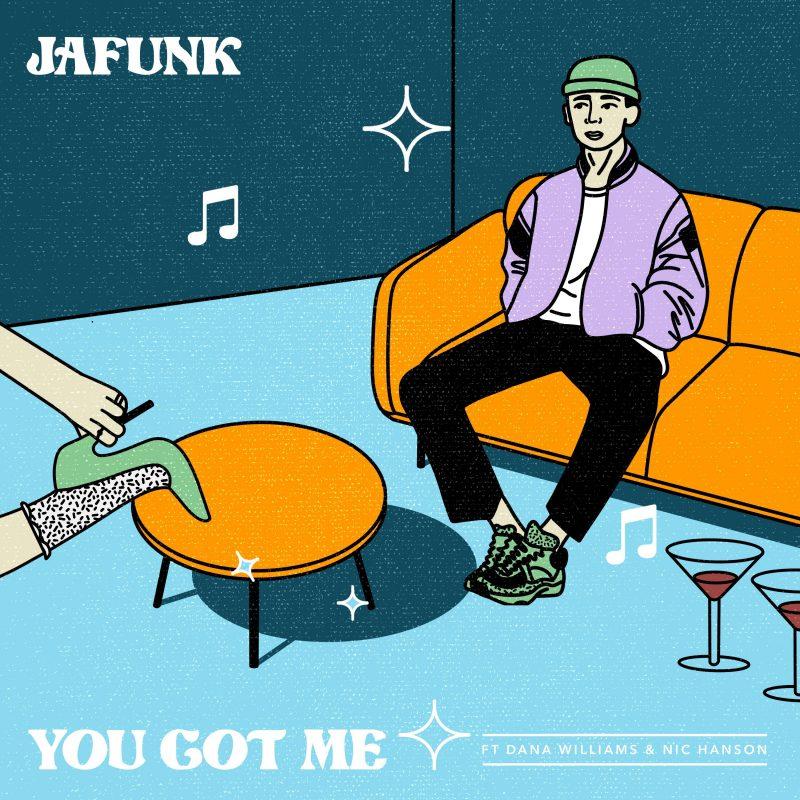 Trio Modern Funk sur «You Got Me» de Jafunk avec Dana Williams et Nic Hanson