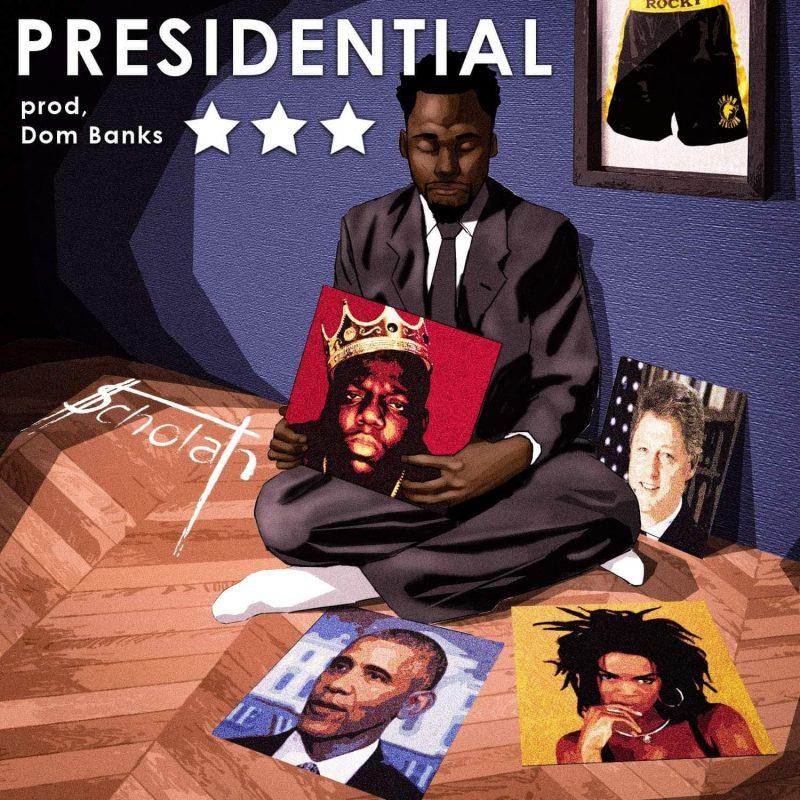 En mode sexy politique avec «Presidential» le nouveau son RnB Hop de $cholah