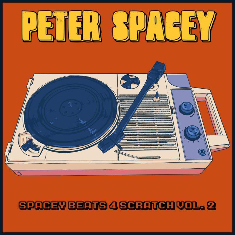 Sampleur, Scartcheur fou avec Peter Spacey et son EP «Spacey Beats 4 Scratch Vol.2»