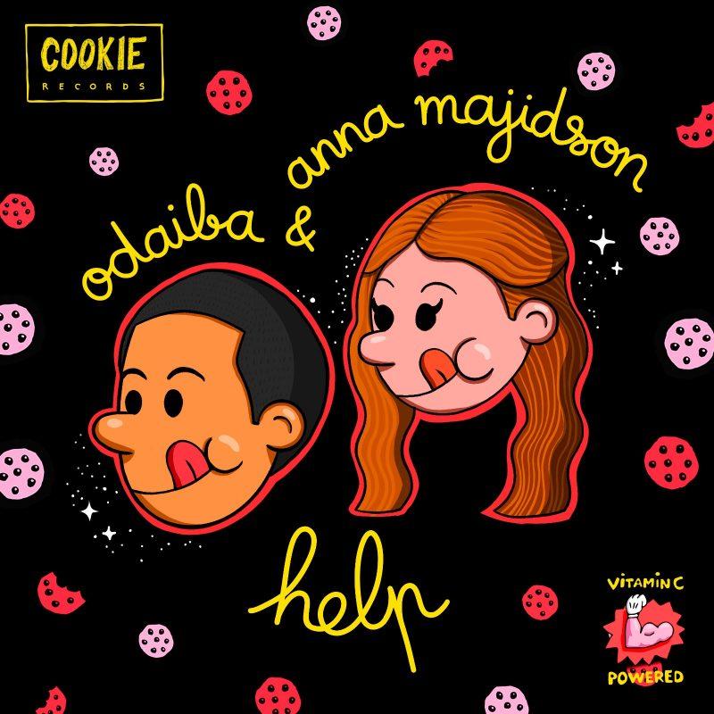 French Électro Disco avec Odaiba et Anna Majidson sur le titre «Help»